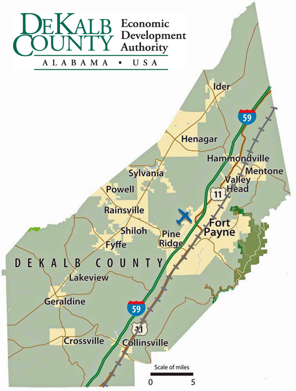 Dekalb County Map